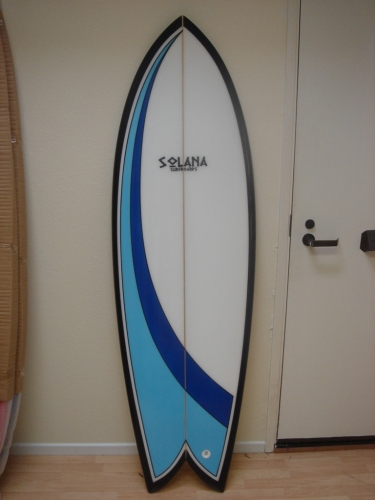 Retro Fish Surfboard By Solana Surfboards