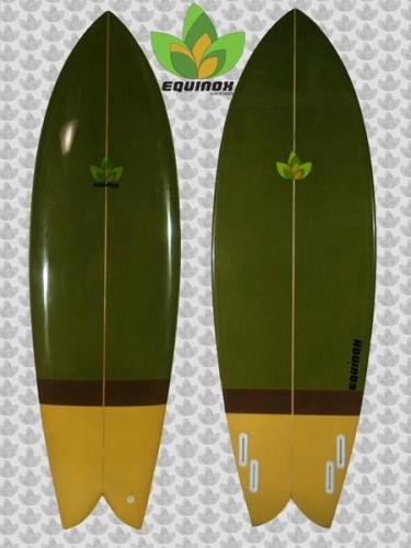6 39 4 Retro Fish Mp Quad By Equinox Surfboards Brand New