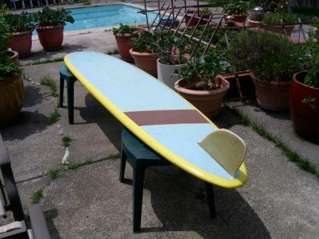 Vintage 1960's Dave Sweet Longboard Surfboard image 2