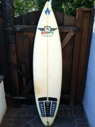 6'7'' Rockin Fig Surfboard  Image 1