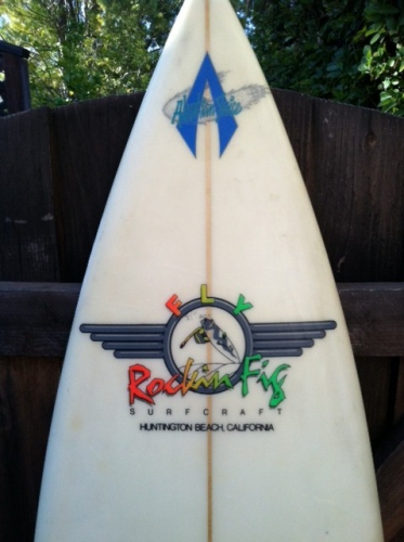 6'7'' Rockin Fig Surfboard  image 2