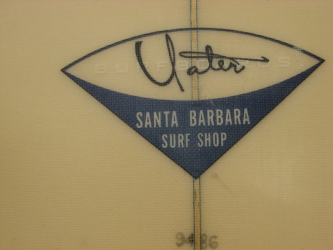 Vintage Surfboard Image 1