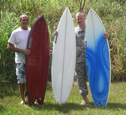 Tore Surfboard Giveaway Winners