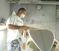 Custom surfboard shaping at its finest