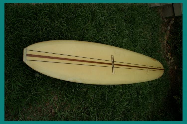 Vintage 1965 Gordon Smith Longboard Surfboard 10 Foot