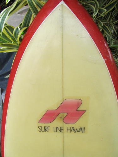 "VINTAGE SURFLINE HAWAII KNEEBOARD 4'9""  image 3"