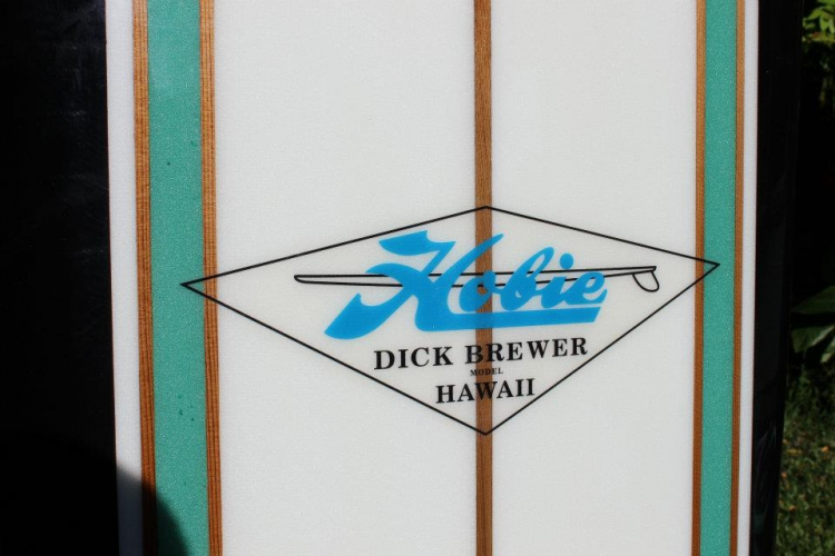 Hobie Dick Brewer Model 1965 10'10 Handshaped Brewer RARE Image 2