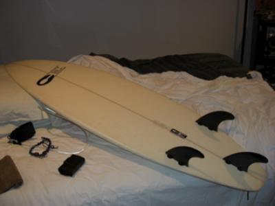 "5'6"" shortboard great for kids Image 1"